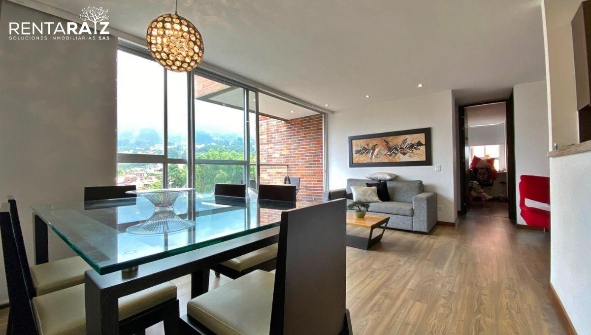 El Esmeraldal – Espectacular Apartamento Con Acabados Modernos y Una Tranquila Vista (cod 844)