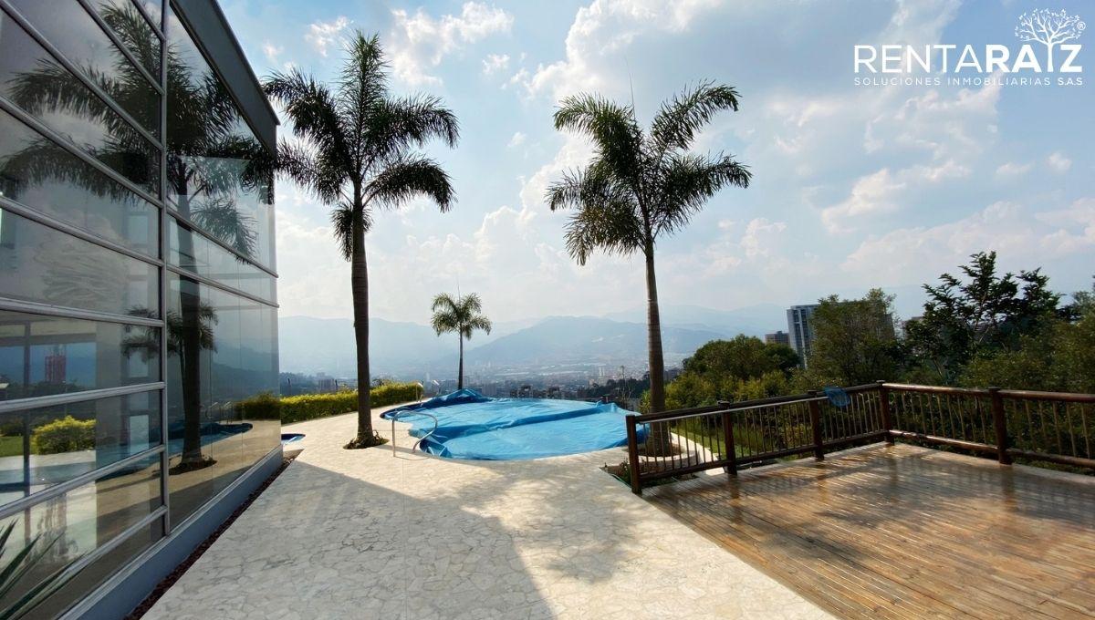 Loma Del Escobero – Espectacular Casa Con Piscina Y Hermosa Vista A La Ciudad (Cod 602)